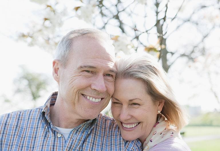 Ehepaar in Freiem