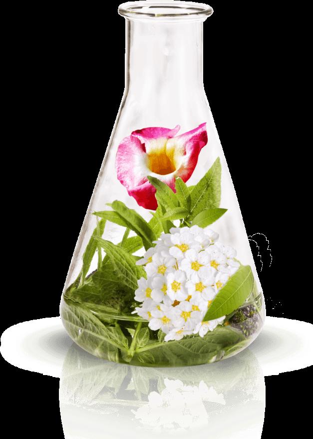 Reagenzglas mit Wirkstoffen
