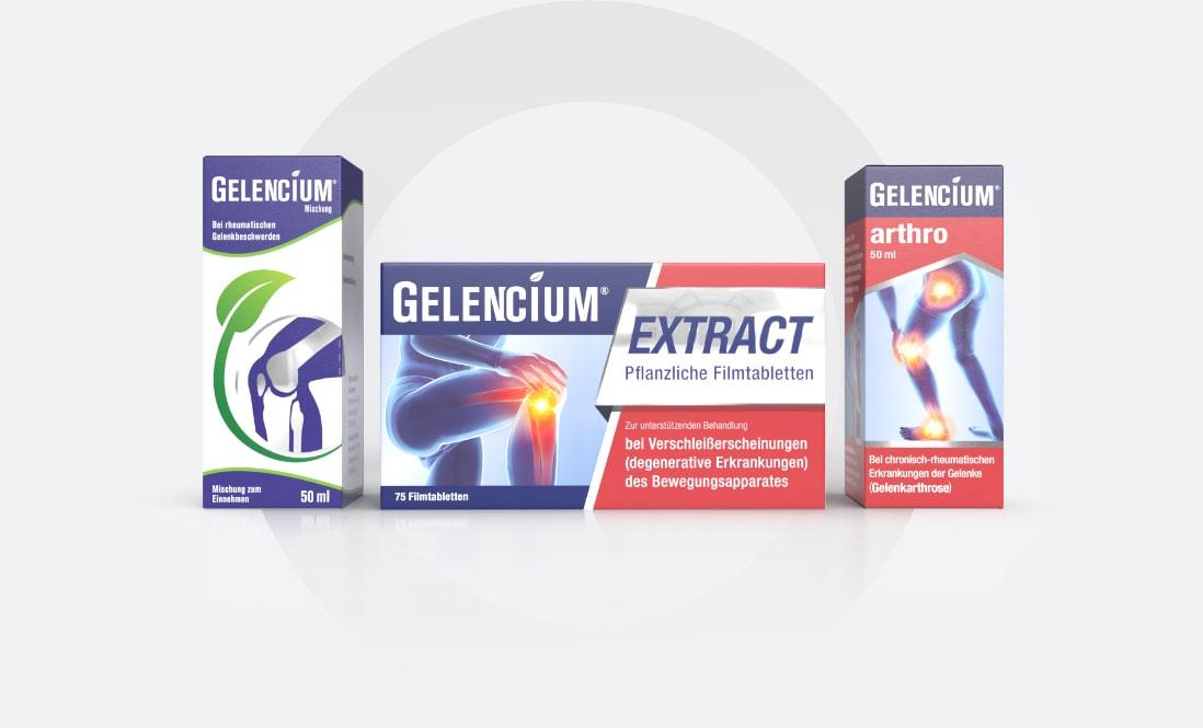 Gelencium Sortiment