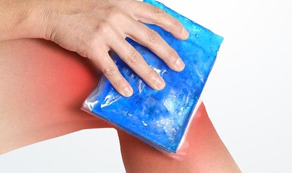 Akute Entzündung am Knie