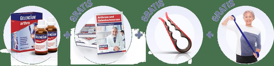 GELENCIUM Arthrose Spar Set